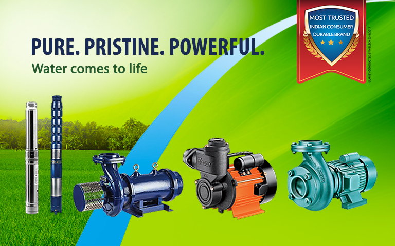 Water pumps for Residential, Agricultural and Special